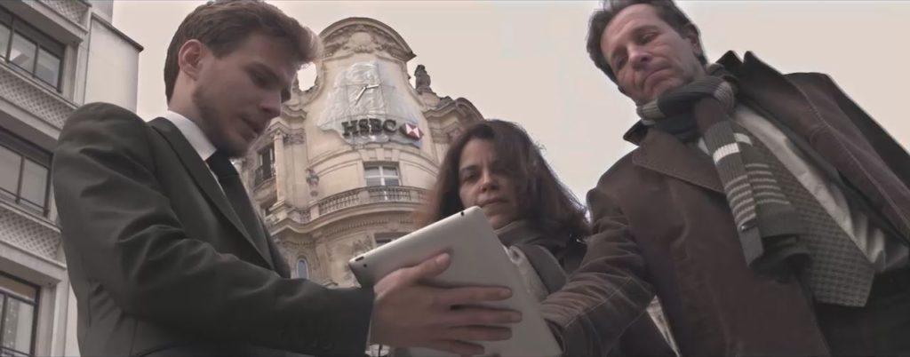 film institutionnel parodique Universwiftnet