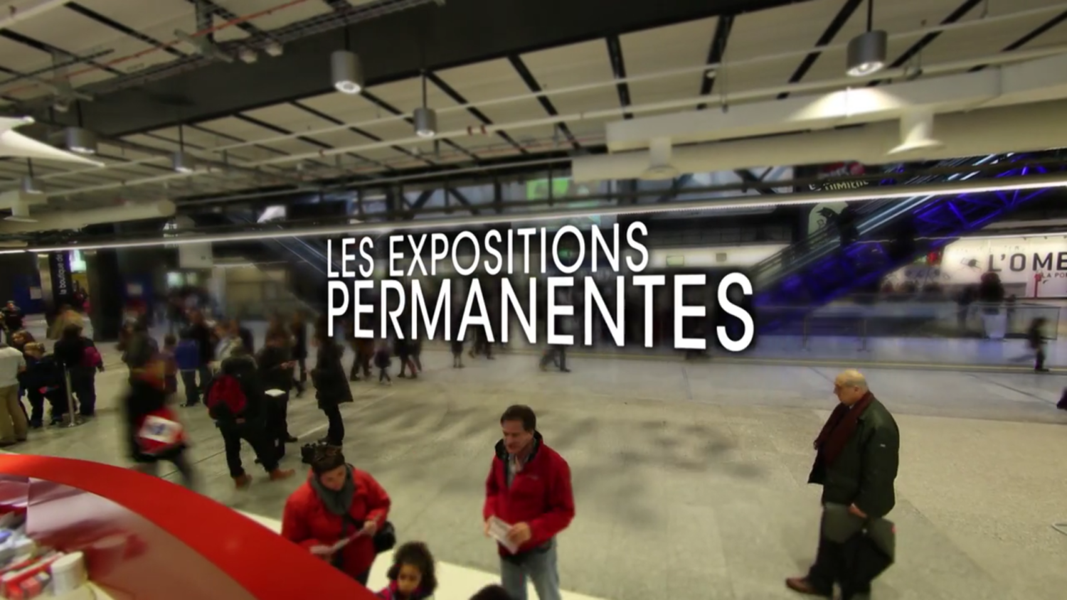 Cité des Sciences : bande-annonce des expositions permanentes film institutionnel