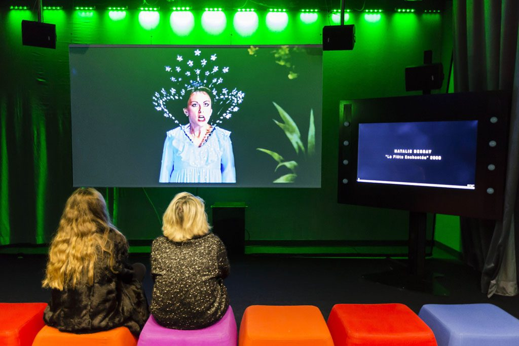Film pedagogique culturel - La Voix : l'expo qui vous parle - projection