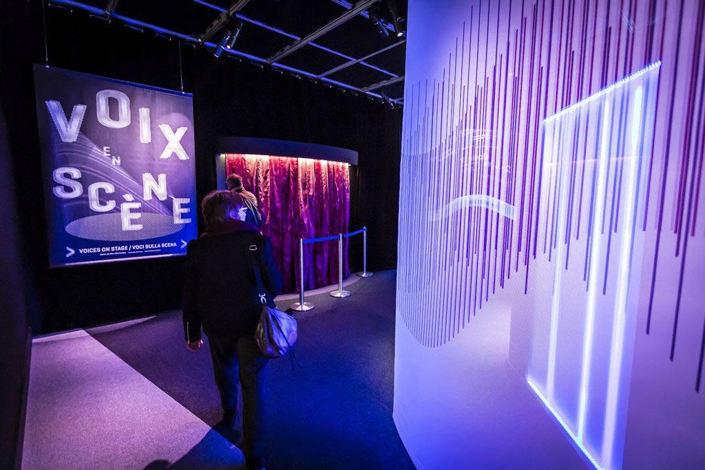 Film pedagogique culturel - La Voix : l'expo qui vous parle - exposition