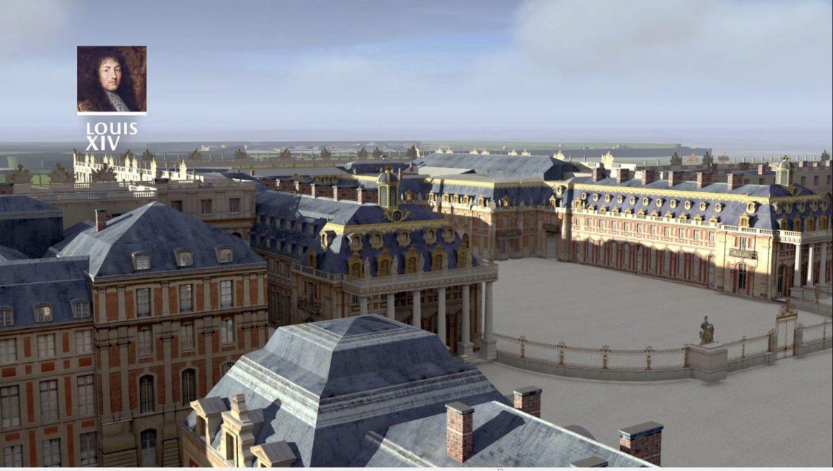 Versailles 3D : L'évolution du château et du domaine à travers l'Histoire
