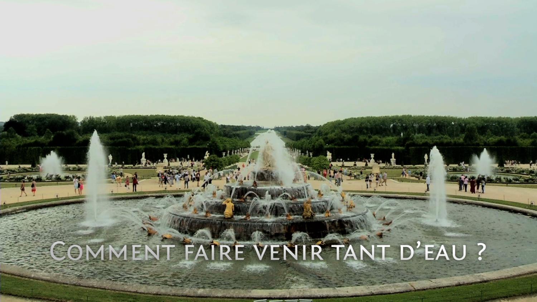 L'acheminement des eaux à Versailles