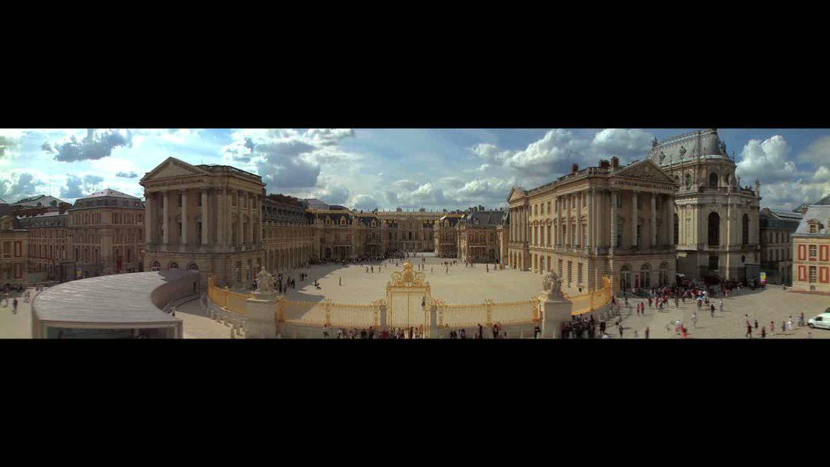 Sciences & curiosités à la cour de Versailles, film tourné en 360°