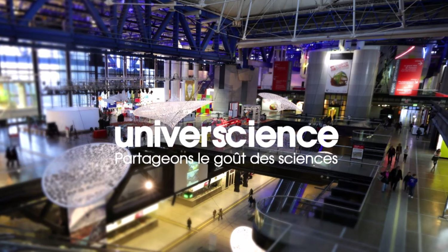 Universcience François-Hugues de Vaumas Xavier de Lauzanne film institutionnel