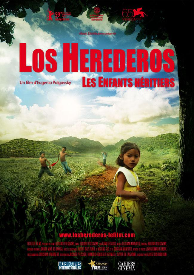 LOS HEREDEROS -affiche 21 septembre 2011 Eugenio Polgovsky documentaire enfants mexique