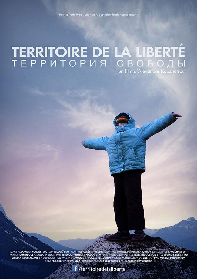 Territoire de la liberte - affiche documentaire Alexander Kuznetsov 4 février 2015 Russie