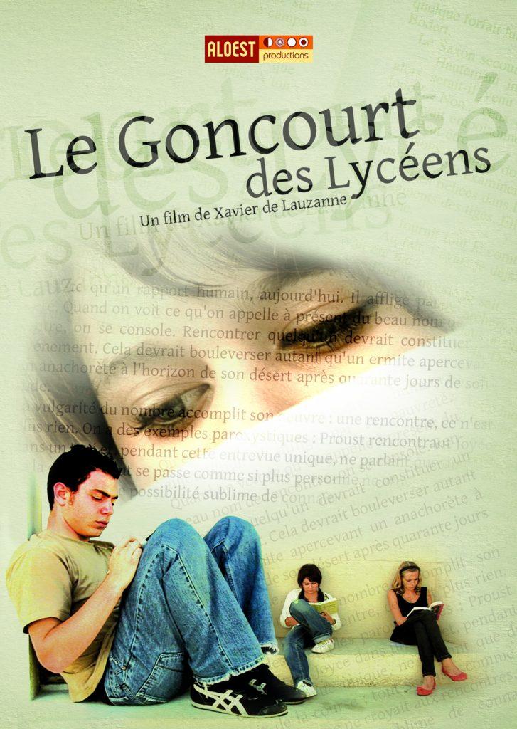 Le Goncourt des lyceens, un film de Xavier de Lauzanne - affiche documentaire 2007 prix littéraire