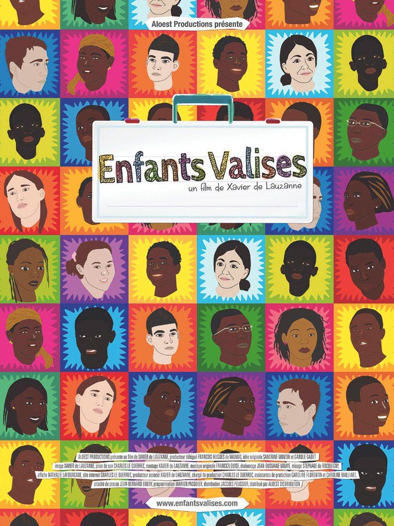 Enfants Valises, un film de Xavier de Lauzanne - affiche Documentaire 11 novembre 2013