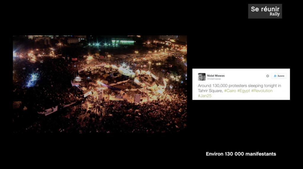 film pédagogique culturel - Universcience rendez vous sur la place - place tahrir