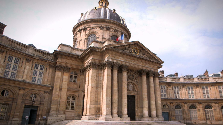 Captation - Institut de France 2016 - coupole exterieure