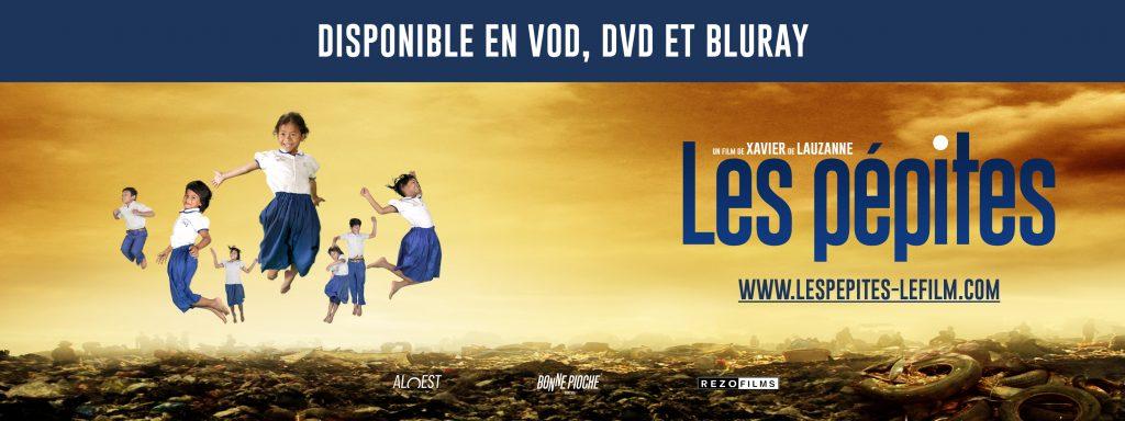 bandeau-mail-sortie-dvd-les-pepites Xavier de Lauzanne documentaire 5 Octobre 2016 Cambodge enfants études