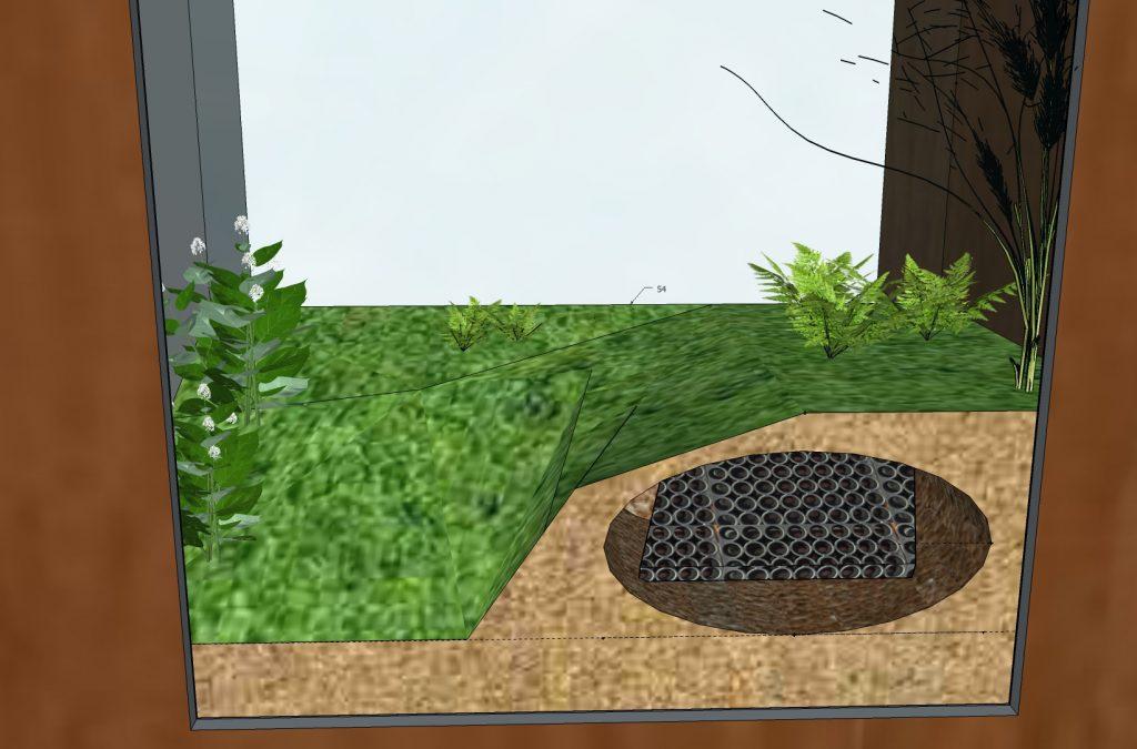 Universcience - Exposition Pasteur - modele 3D - detail terrarium