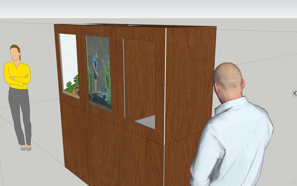 Universcience - Exposition Pasteur - modele 3D - 3/4