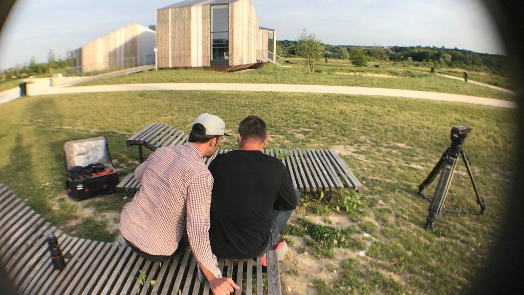 Le Parc du Peuple de l'Herbe - teaser publicitaire - tournage