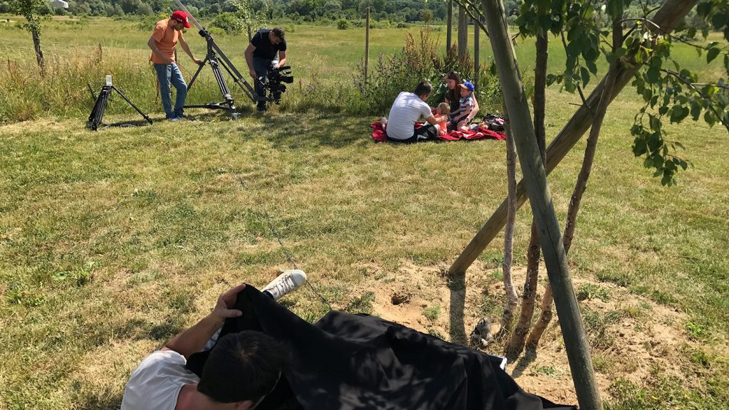 Le Parc du Peuple de l'Herbe - teaser publicitaire - tournage 03