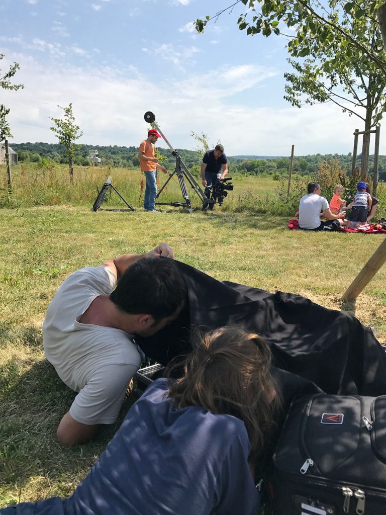 Le Parc du Peuple de l'Herbe - teaser publicitaire - tournage 01