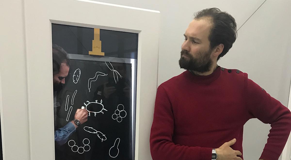 UNIVERSCIENCE - Expo Pasteur - Culture des bacteries - Fitzgerald Berthon