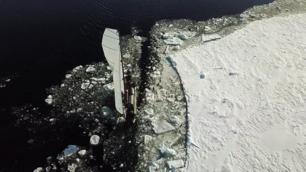 LA VOIE ARCTIQUE, 3 HOMMES À TRAVERS LES GLACES Documentaire traversée Arctique voile scientifique innovation