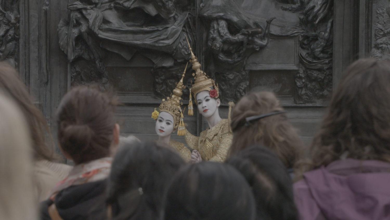 Le Ballet royal du Cambodge s'est produit à Paris, sur la scène de la Philharmonie