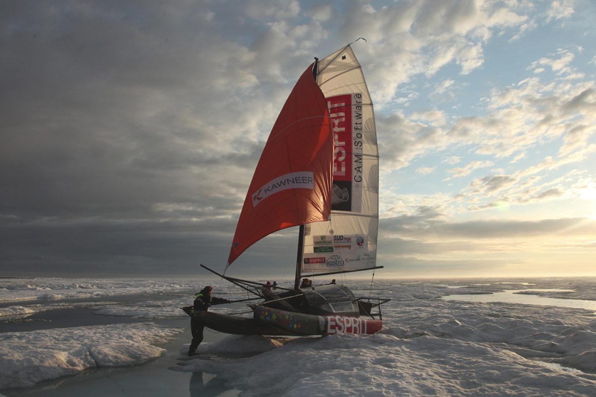 La voie arctique, 3 hommes à travers les glaces
