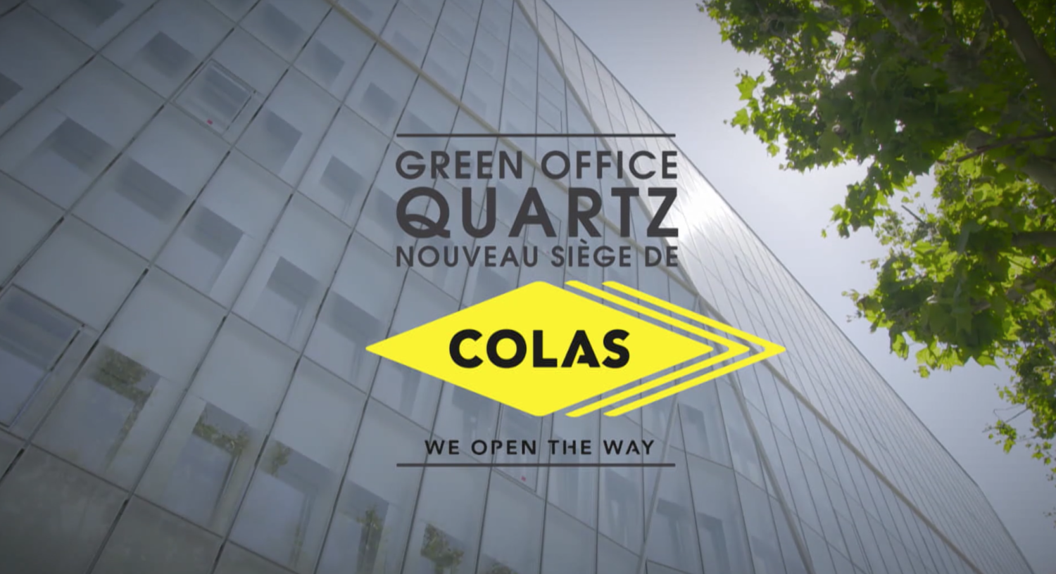 Film institutionnel TF1 Events – Colas groupe