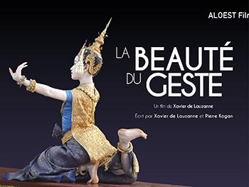 La beauté du geste, film documentaire - Xavier de Lauzanne bandeau mail danse Cambodge ballet