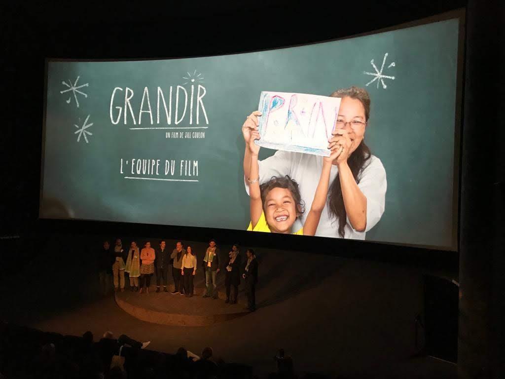 «Grandir», en tête d'affiche