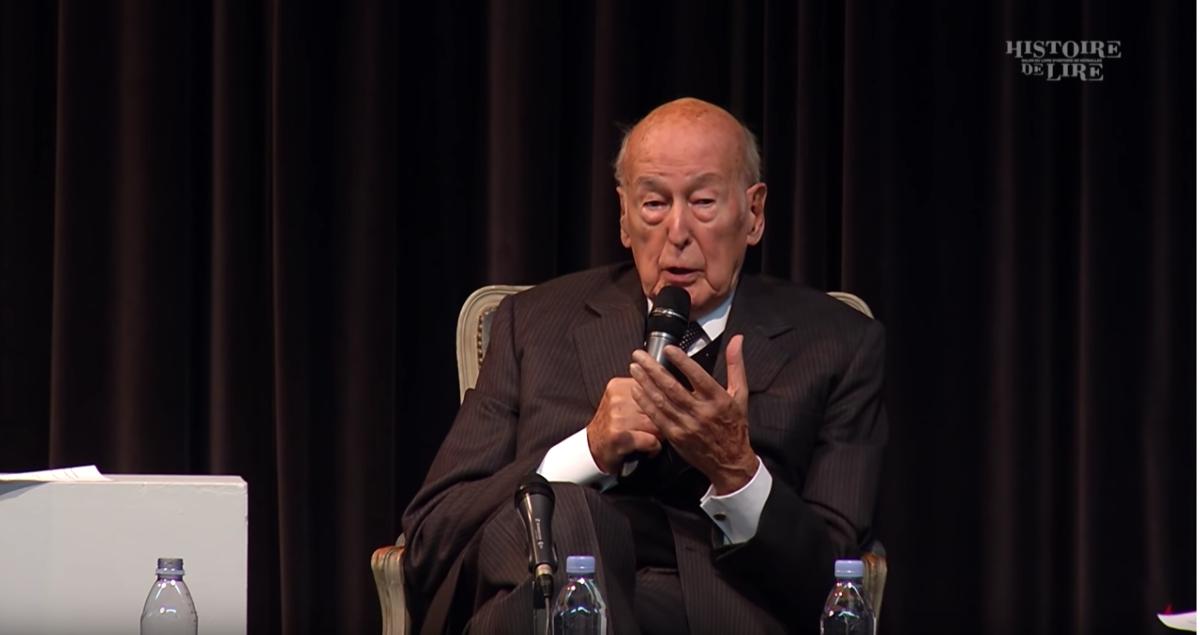 Captation - Histoire de Lire 2019 - Valéry Giscard d'Estaing