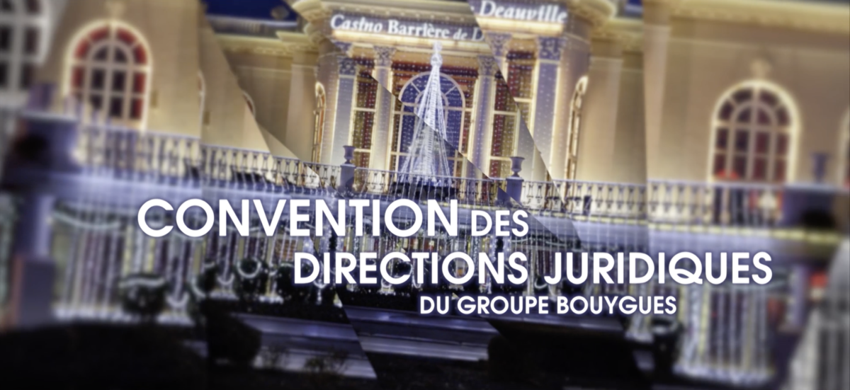 TF1 Events – convention Bouygues